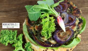 amazing Kale Burger