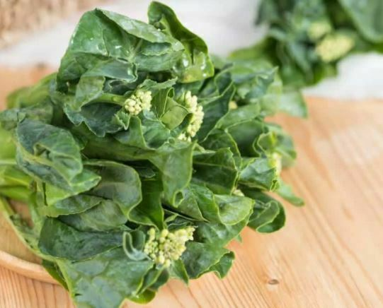 types of Kale: Chinese Kale