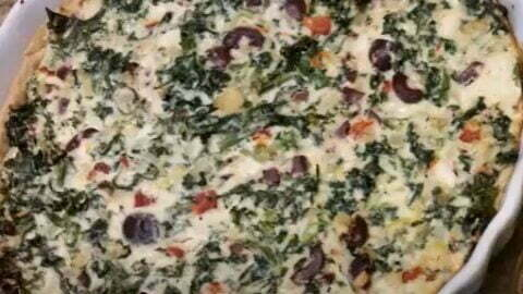 SPICY TUSCAN KALE AND RICOTTA PIE