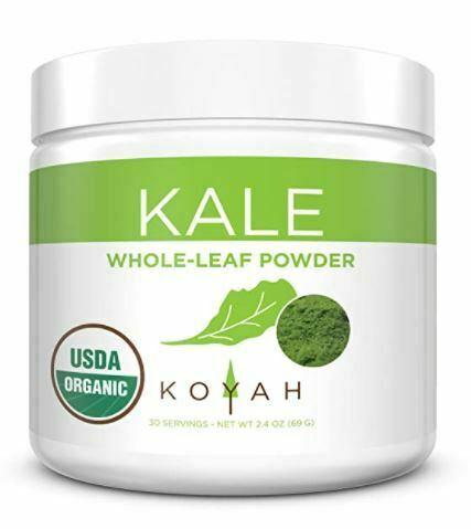kale powder: KOYAH - Organic USA Grown Kale Powder
