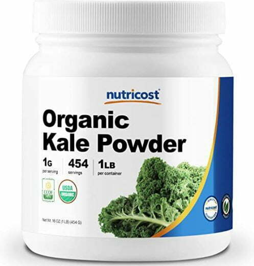 kale powder: Nutricost Organic Kale Powder