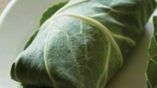 Cucumber Kale Wraps